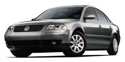 2002 Volkswagen Passat GLS Turbocharged Front Wheel Drive Traction Control Tires - Front All-Sea