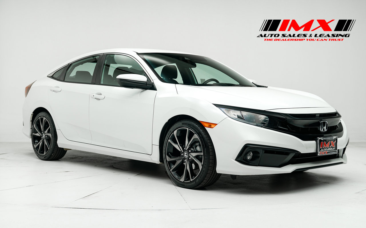 2019 Honda Civic Sedan Sport Sport CVT Regular Unleaded I-4 2.0 L/122 [1]