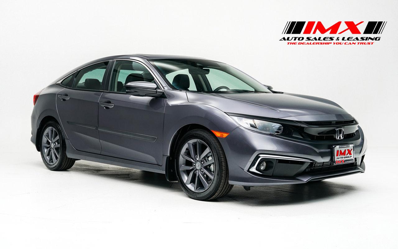 2020 Honda Civic Sedan EX-L EX-L CVT Intercooled Turbo Regular Unleaded I-4 1.5 L/91 [25]