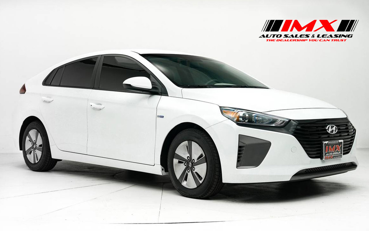 2019 Hyundai Ioniq Hybrid Blue Blue Hatchback Gas/Electric I-4 1.6 L/96 [3]