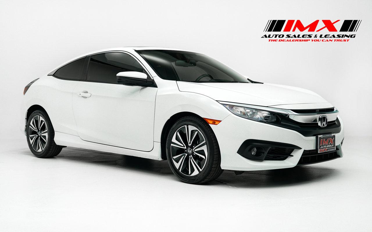 2017 Honda Civic Coupe EX-L EX-L CVT Intercooled Turbo Regular Unleaded I-4 1.5 L/91 [29]
