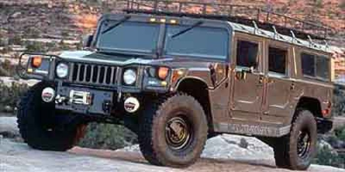 2001 AM General Hummer Enclosed
