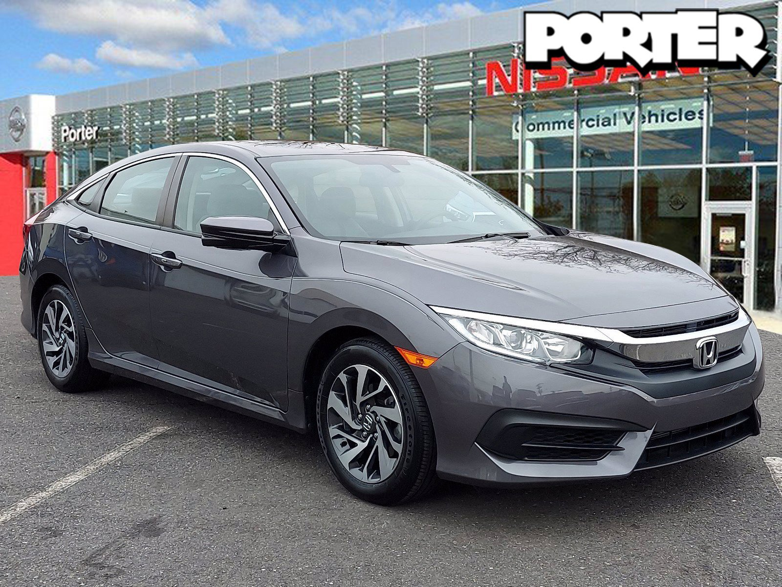 2017 Honda Civic Sedan EX EX CVT Regular Unleaded I-4 2.0 L/122 [1]