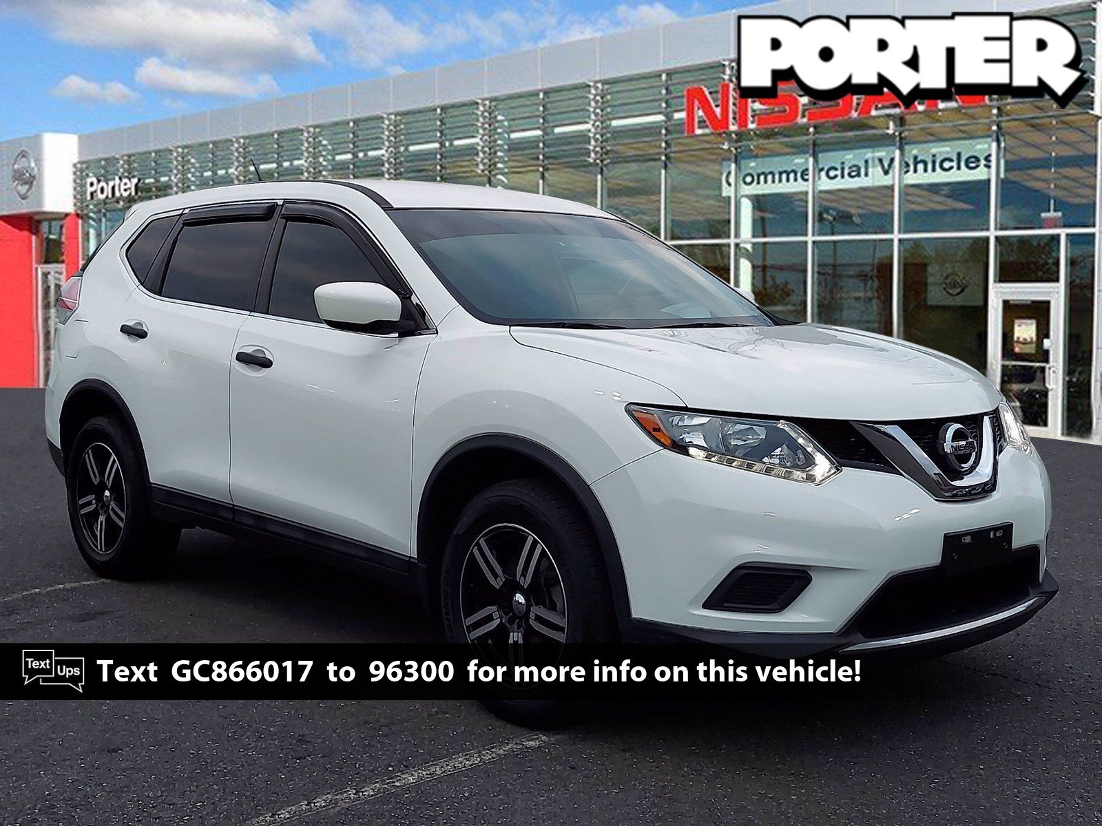 2016 Nissan Rogue S AWD 4dr S Regular Unleaded I-4 2.5 L/152 [6]