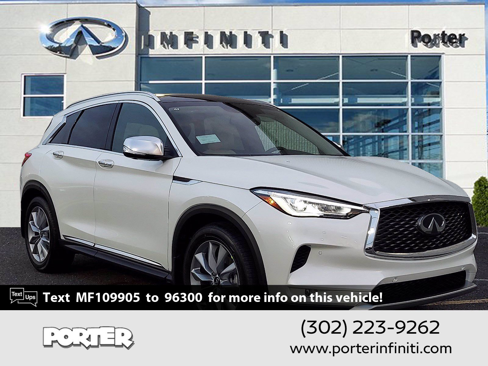 2021 INFINITI QX50 ESSENTIAL ESSENTIAL AWD Intercooled Turbo Premium Unleaded I-4 2.0 L/121 [9]