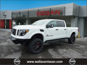 2019 Nissan Titan XD SV with Rocky Ridge Stealth Package