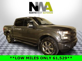 2015 Ford F-150 Lariat 4X4 Crew Cab Short Bed