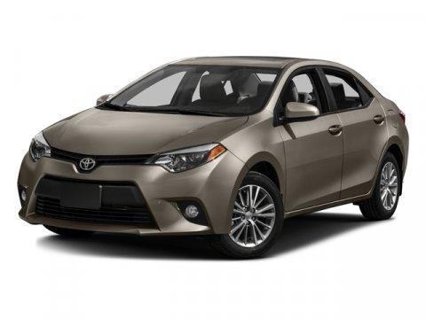 New 2016 Toyota Corolla, $20210
