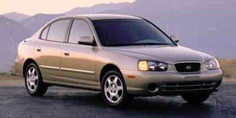 2003 Hyundai Elantra 4dr Sdn GLS Auto SULEV