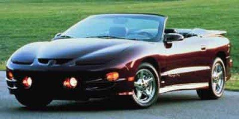 2001 Pontiac Firebird Firebird