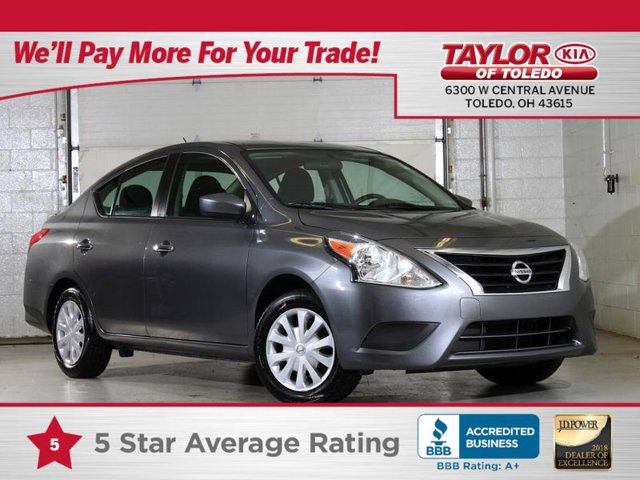 2017 Nissan Versa Sedan SV Gun Metallic