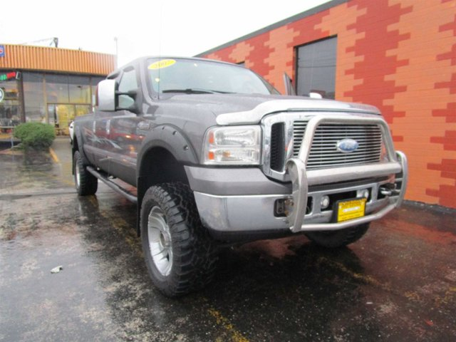 2007 Ford Super Duty F-350 SRW Lariat Four Wheel Drive Tow Hooks Tires - Front All-Season Tires