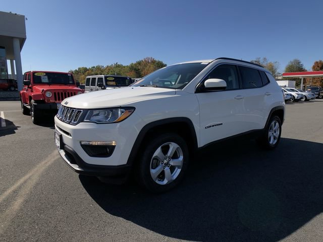 2018 Jeep Compass Latitude White Clearcoat