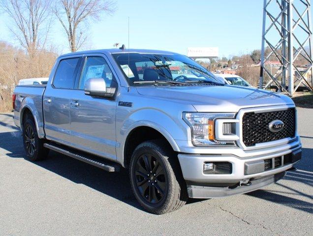 Silver Metallic 2020 Ford F-150 LARIAT Crew Cab Pickup Winston-Salem NC