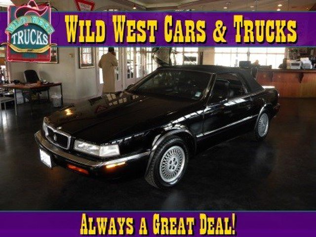 1991 Chrysler TC  Power Steering 4-Wheel Disc Brakes ABS Tires - Front Performance Tires - Rear