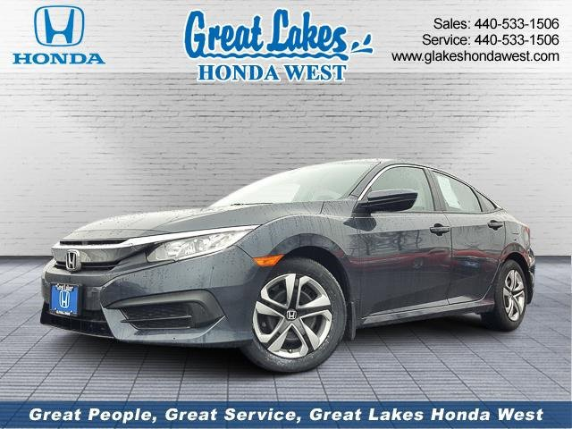 Used 2017 Honda Civic Sedan in Elyria, OH