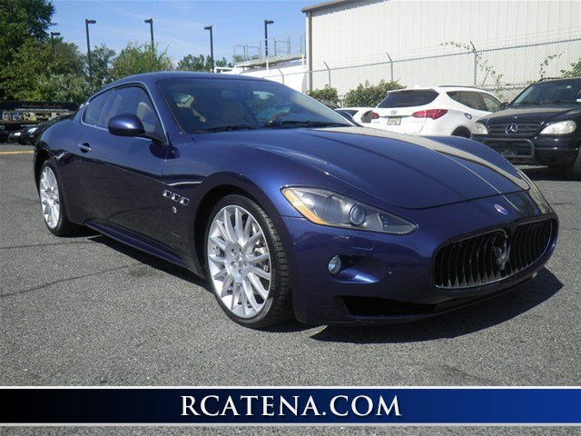 2010 Maserati GranTurismo S Automatic Rear Wheel Drive Power Steering 4-Wheel Disc Brakes Alumin
