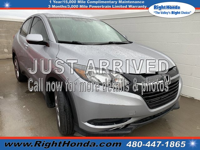 2018 Honda HR-V LX 2WD CVT Regular Unleaded I-4 1.8 L/110 [0]