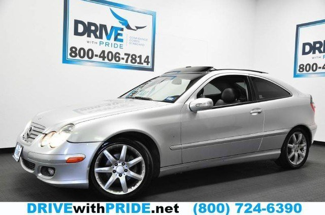 2005 Mercedes C-Class 18L Supercharged Rear Wheel Drive Traction Control Stability Control Tir