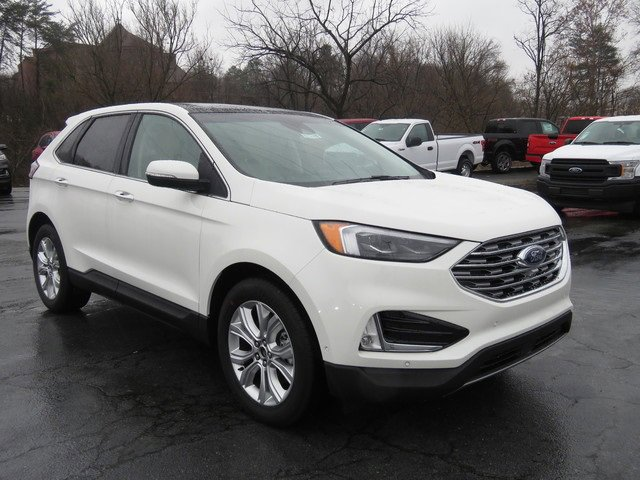 White Metallic 2020 Ford Edge TITANIUM SUV Winston-Salem NC