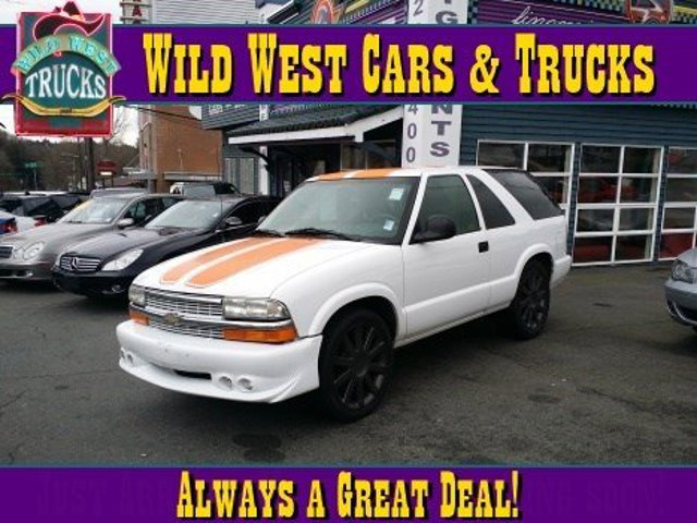 1996 Chevrolet Blazer LS Rear Wheel Drive Tires - Front All-Season Tires - Rear All-Season Conve