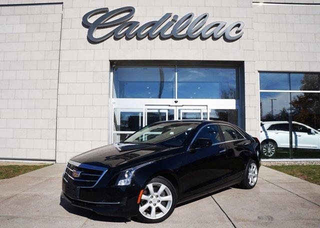 2015 Cadillac ATS Sedan Standard AWD Black Raven