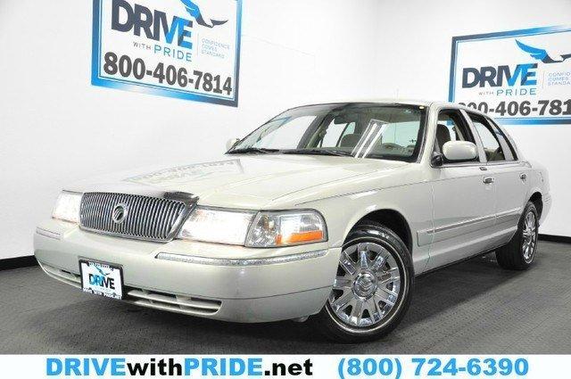 2005 Mercury Grand Marquis GS AMFM CD CRUISE CONTROL POWER ACCESSORIES Rear Wheel Drive Tires - F