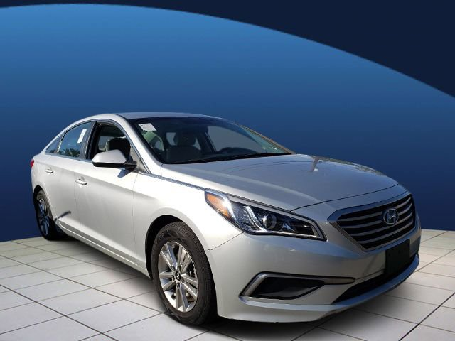 2017 Hyundai Sonata 24L GRAY  YES ESSENTIALS PREMIUM CLOTH SEATING SURFACES SYMPHONY SILVER Fron