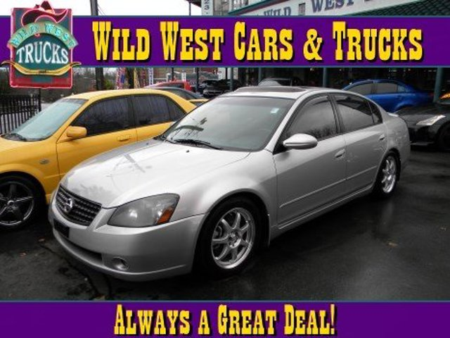 2005 Nissan Altima 35 SE-R Front Wheel Drive Tires - Front Performance Tires - Rear Performance