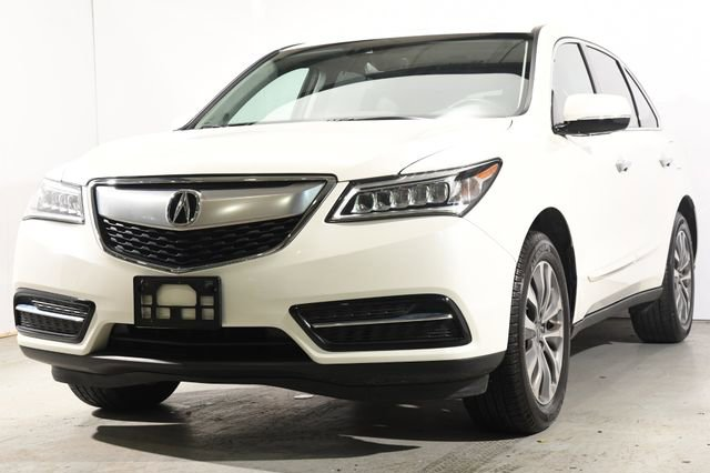 2016 Acura MDX wTechEntertainmentAcuraWatch Plus Leather interiorLike New exterior conditionLi