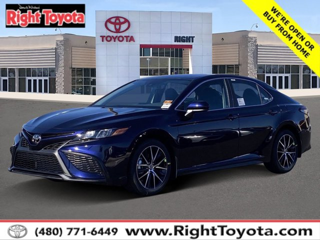 2021 Toyota Camry SE SE Auto Regular Unleaded I-4 2.5 L/152 [27]