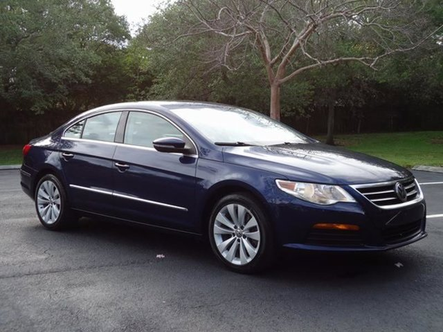 2011 Volkswagen CC Sport 4dr Sedan 6A Turbocharged LockingLimited Slip Differential Front Wheel