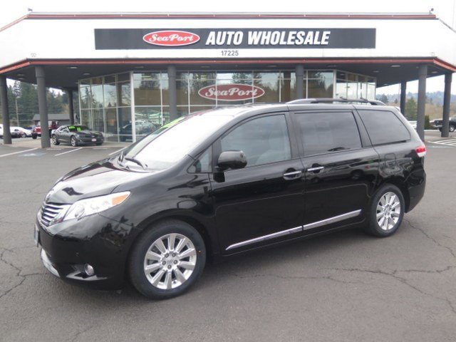 2011 Toyota Sienna Limited Front Wheel Drive Keyless Entry Power Steering 4-Wheel Disc Brakes A
