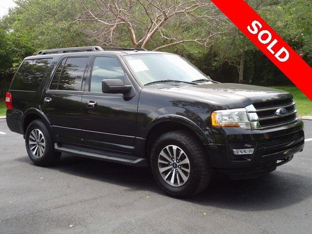 2015 Ford Expedition XLT 4x2 4dr SUV Turbocharged Rear Wheel Drive Tow Hitch Power Steering ABS