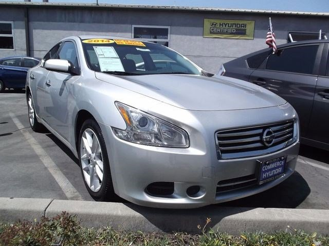 2014 Nissan Maxima 35 S Front Wheel Drive Power Steering ABS 4-Wheel Disc Brakes Brake Assis