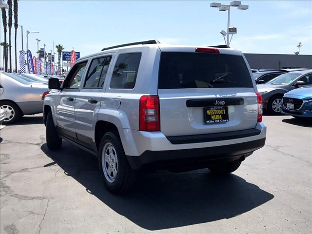 2014 Jeep Patriot Sport Bright Silver Metallic Clearcoat