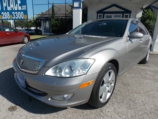 2007 Mercedes S-Class 55L V8 Traction Control Stability Control Rear Wheel Drive Air Suspension