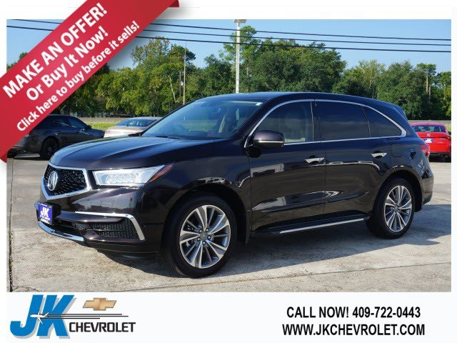 2017 Acura MDX wTechnology Pkg Front Wheel Drive Power Steering ABS 4-Wheel Disc Brakes Brake