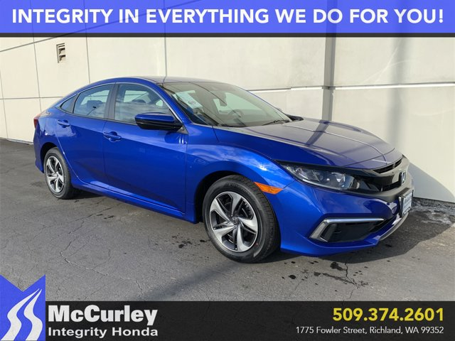 New 2020 Honda Civic Sedan in Richland, WA