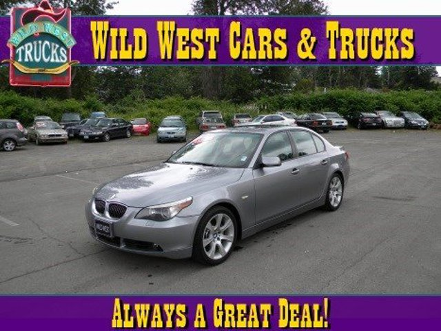 2005 BMW 5 Series 545i Traction Control Stability Control Rear Wheel Drive Tires - Front Perform