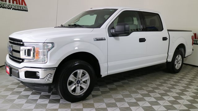 2018 Ford F-150 XLT 2WD SuperCrew 5.5