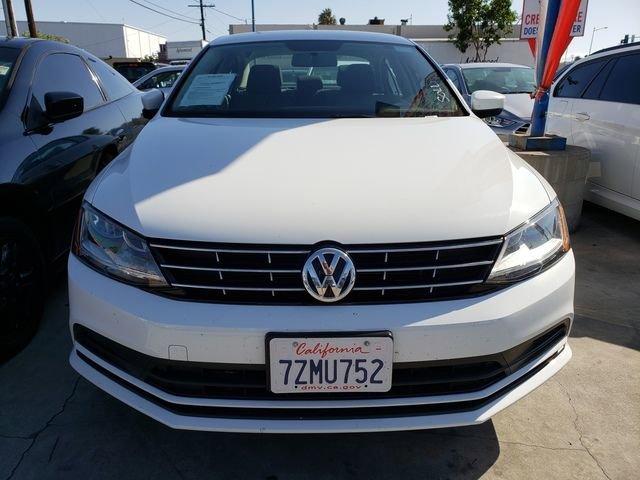 2018 Volkswagen Jetta 1.4T S White