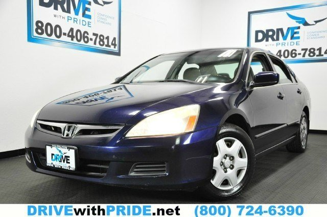 2007 Honda Accord Sdn LX Front Wheel Drive Engine Immobilizer Tires - Front All-Season Tires - R