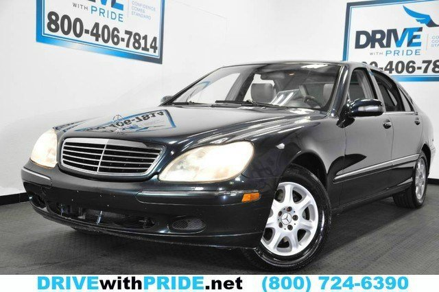2002 Mercedes S-Class 43L Rear Wheel Drive Traction Control Stability Control Active Suspension