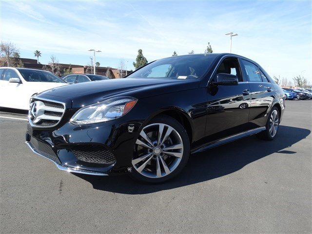 2015 Mercedes E-Class E350 Sport BLACK  LEATHER UPHOLSTERY W181 BLACK  MB-TEX UPHOLSTERY COMFORT
