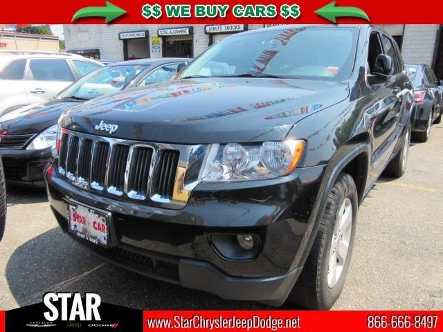 2013 Jeep Grand Cherokee Laredo Black Forest Green Pearl