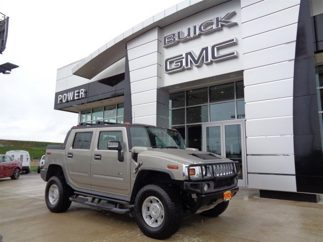 2007 HUMMER H2 SUT Four Wheel Drive LockingLimited Slip Differential Traction Control Tow Hooks