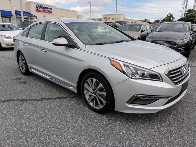 2015 Hyundai Sonata 24L Limited Front Wheel Drive Power Steering ABS 4-Wheel Disc Brakes Brake