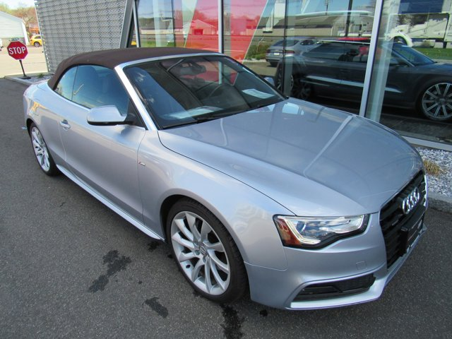 2015 Audi A5 Premium Plus Florett Silver Metallic/Brown Roof