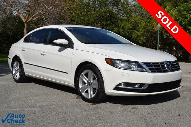 2013 Volkswagen CC 20T Sport Turbocharged Front Wheel Drive Power Steering 4-Wheel Disc Brakes